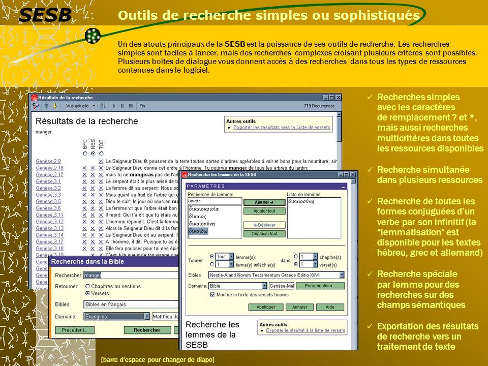 Outils de recherche simples ou sophistiqués