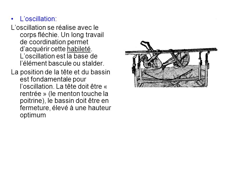 L'oscillation:
