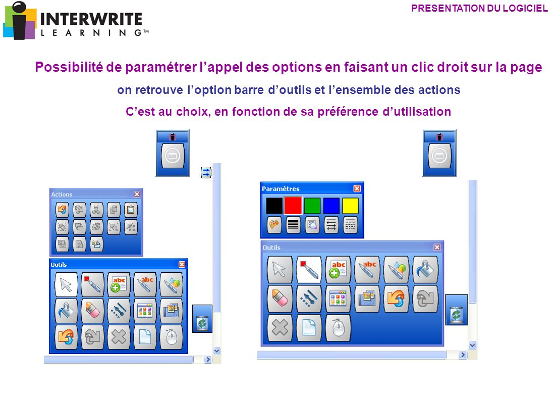 presentation du logiciel
