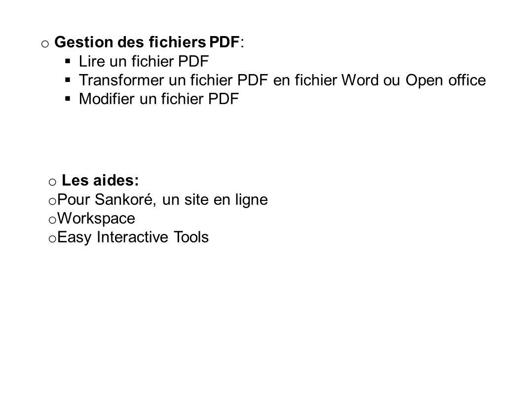 Gestion des fichiers PDF: Lire un fichier PDF
