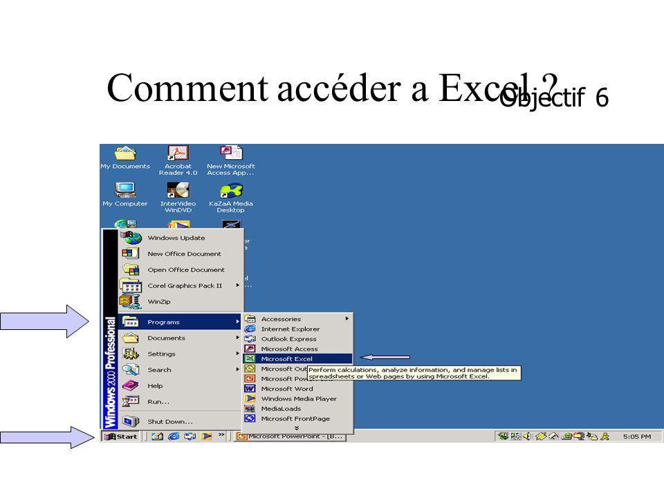 Comment accéder a Excel