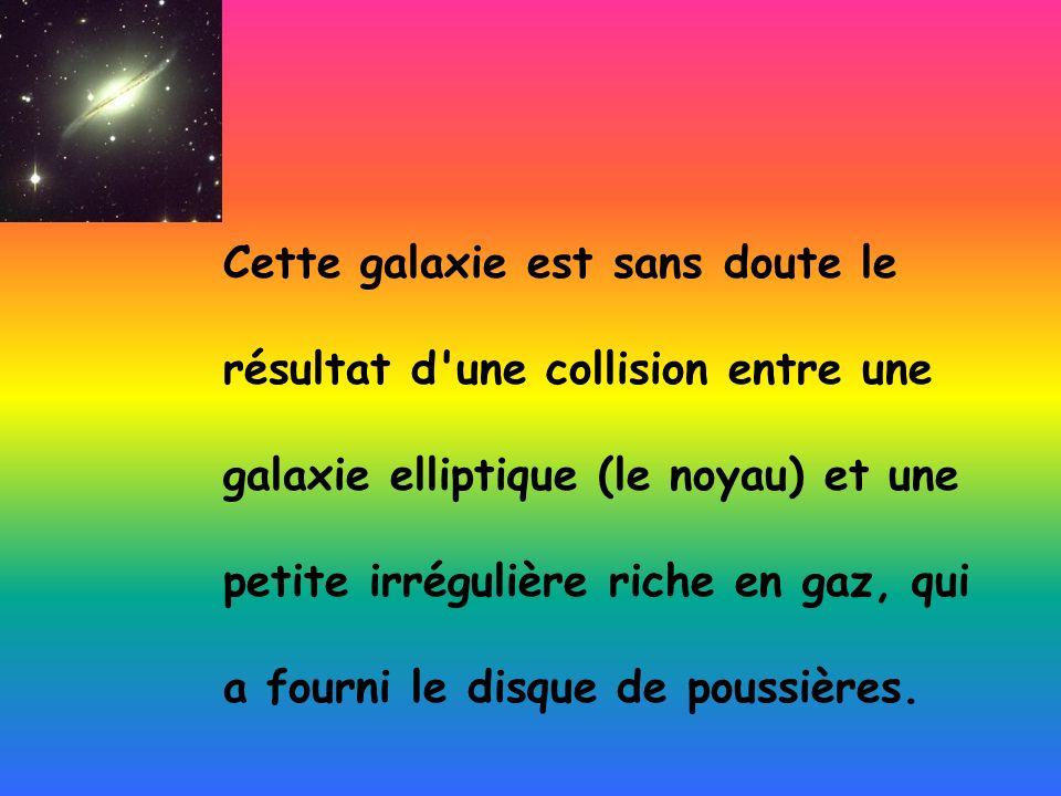 Cette galaxie est sans doute le