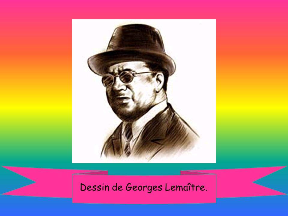 Dessin de Georges Lemaître.