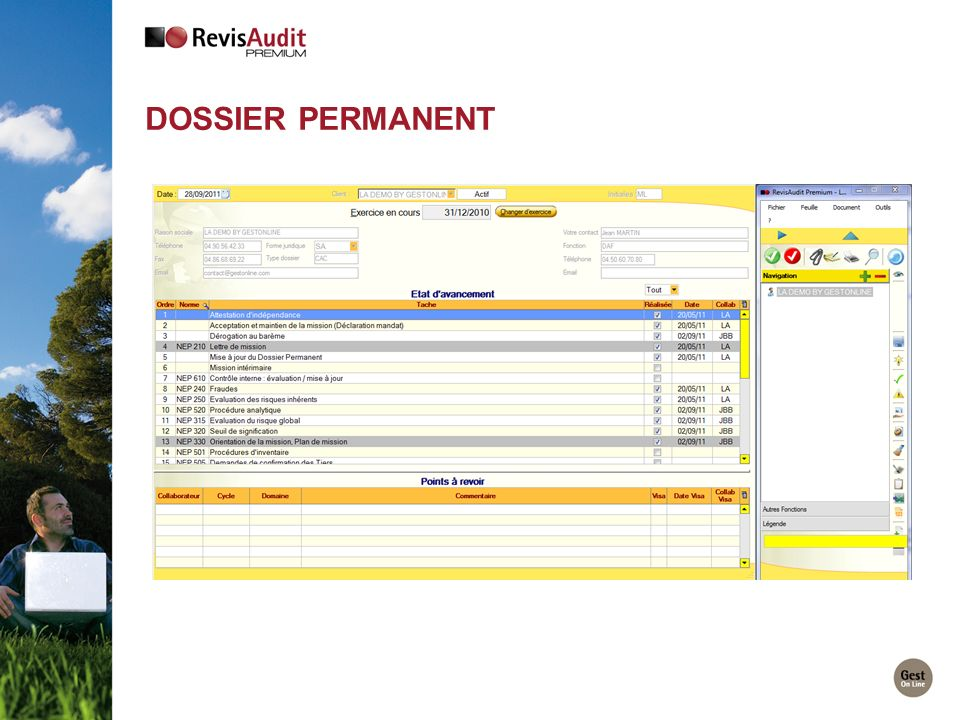 Dossier Permanent