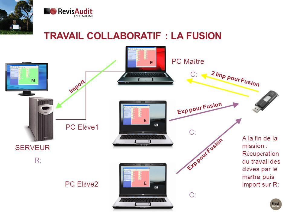 Travail collaboratif : la fusion