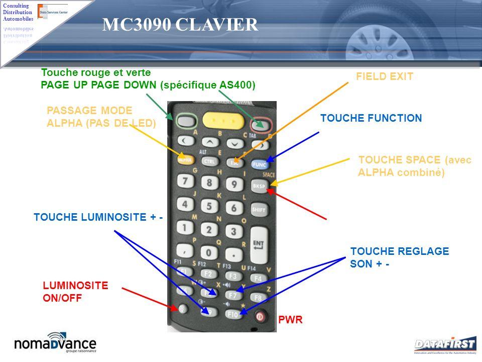 MC3090 CLAVIER Touche rouge et verte FIELD EXIT