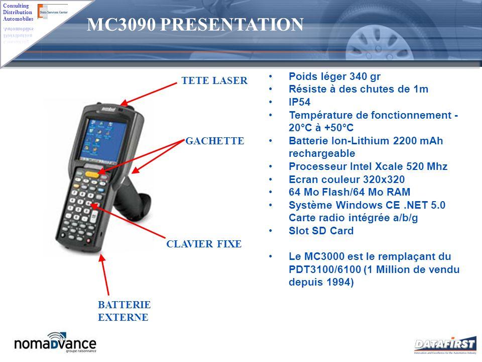 MC3090 PRESENTATION Poids léger 340 gr TETE LASER