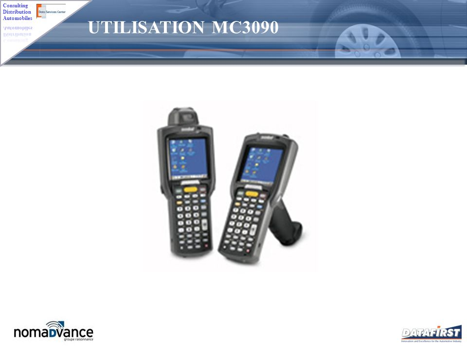 UTILISATION MC3090