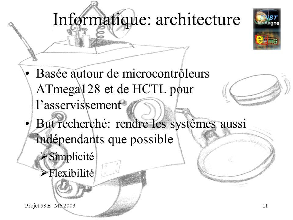 Informatique: architecture