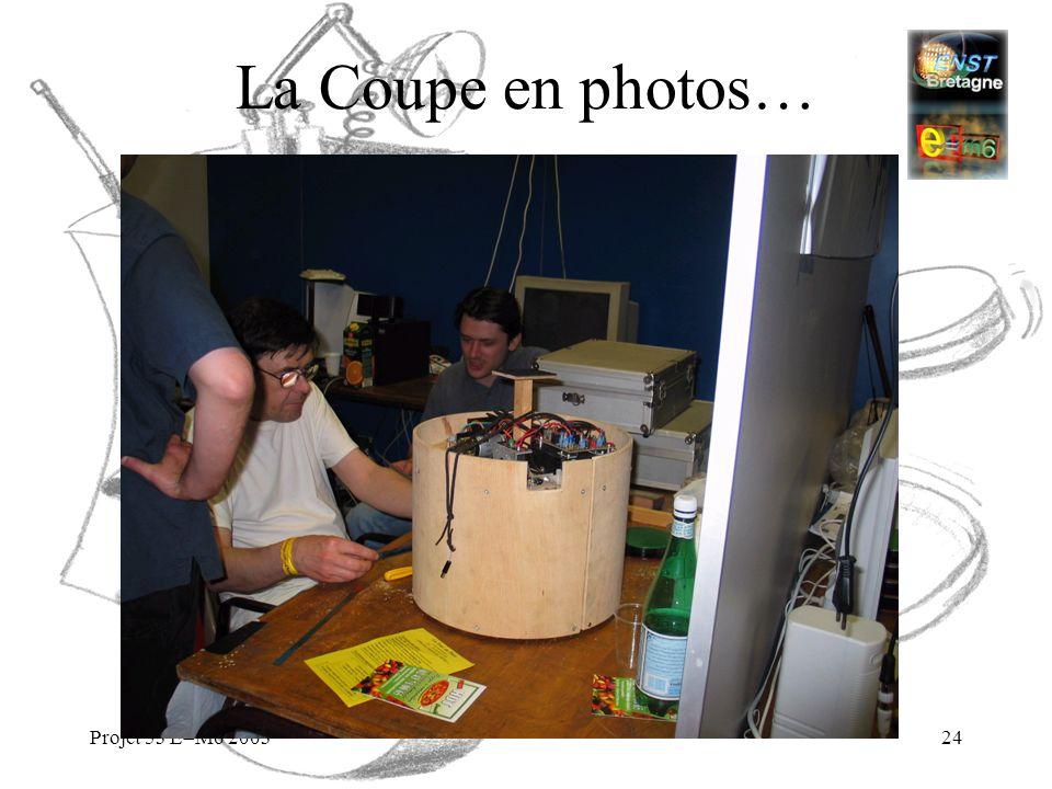 La Coupe en photos… Projet 53 E=M6 2003