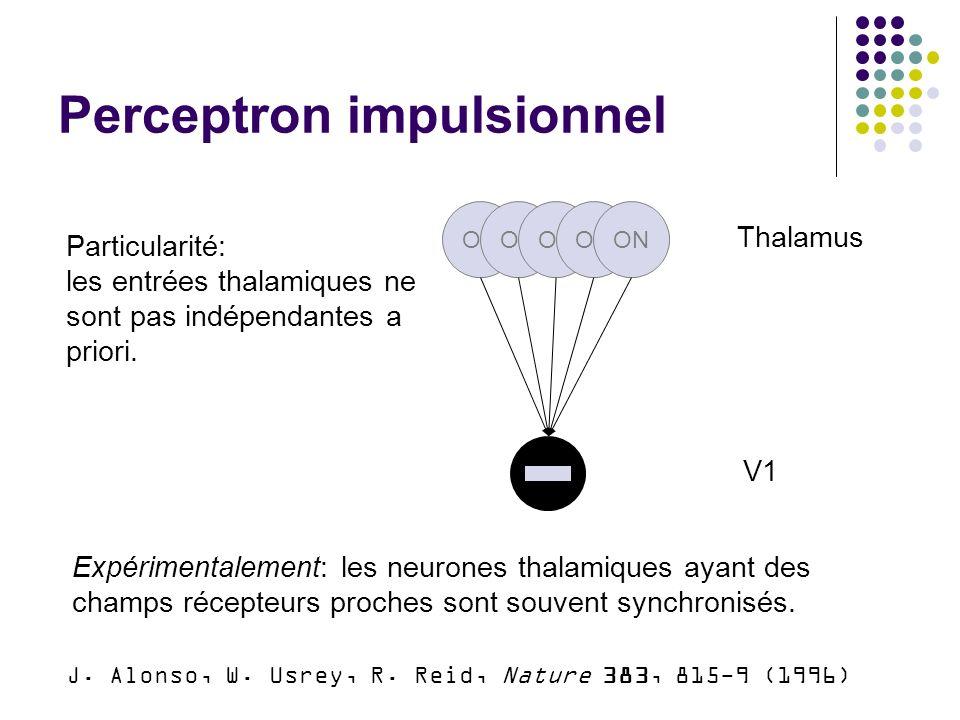 Perceptron impulsionnel