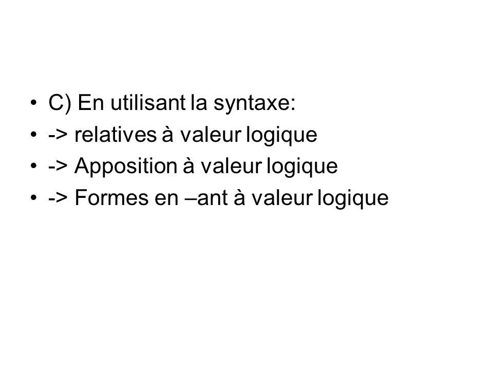 C) En utilisant la syntaxe: