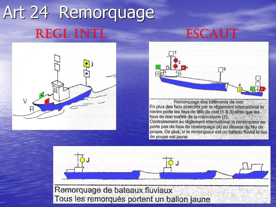 Art 24 Remorquage REgl Intl ESCAUT