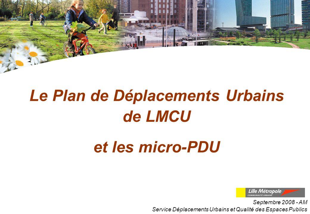 Le Plan de Déplacements Urbains de LMCU