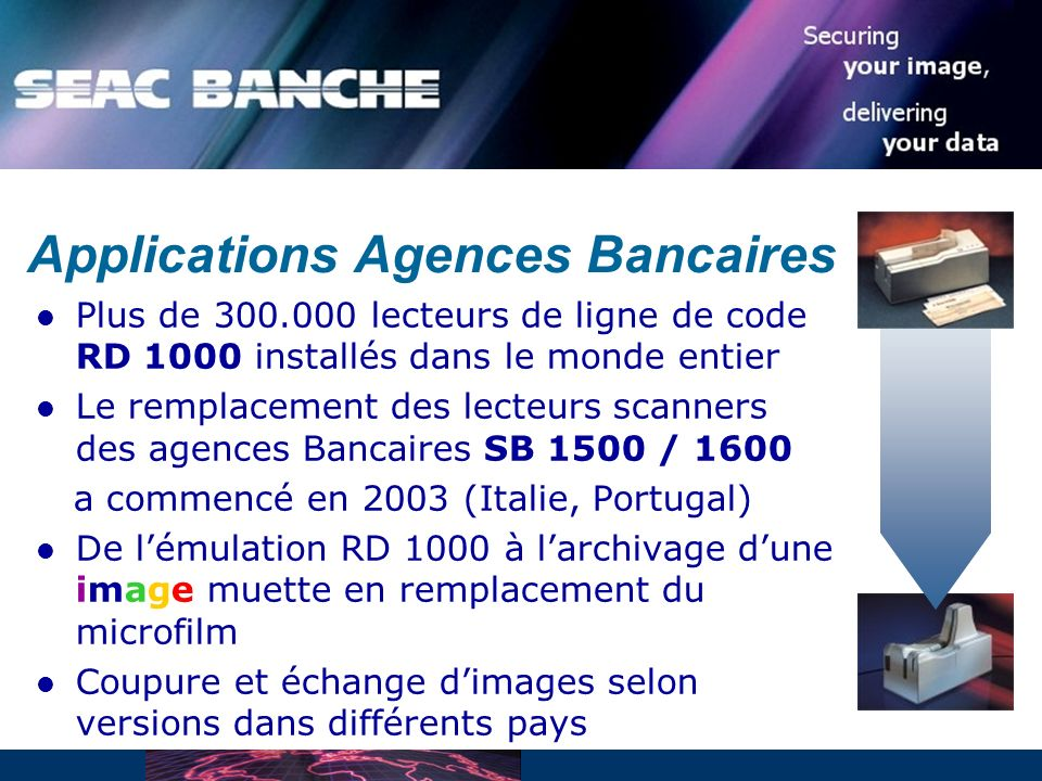 Applications Agences Bancaires