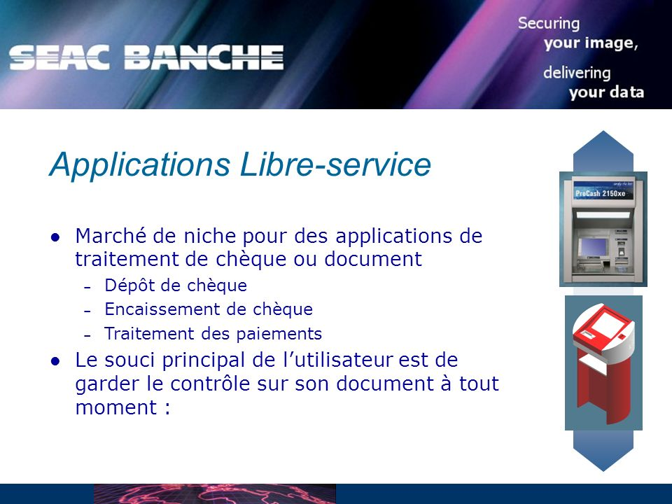 Applications Libre-service
