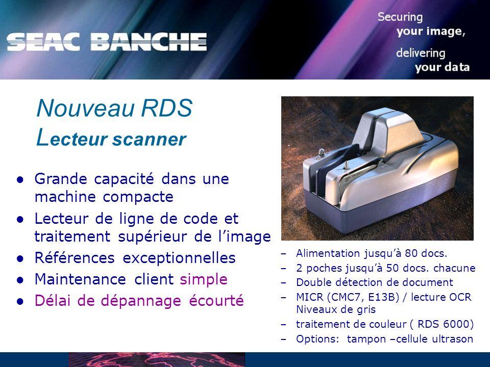 Nouveau RDS Lecteur scanner