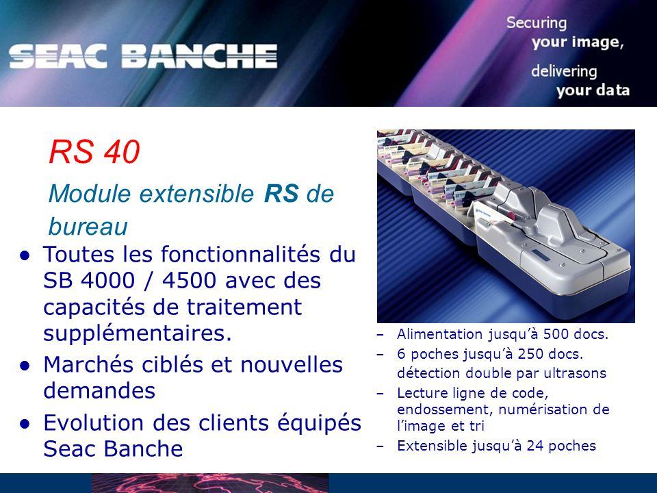 RS 40 Module extensible RS de bureau