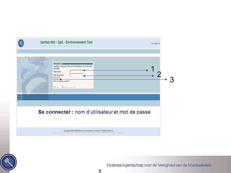 Se connecter : nom d'utilisateur et mot de passe