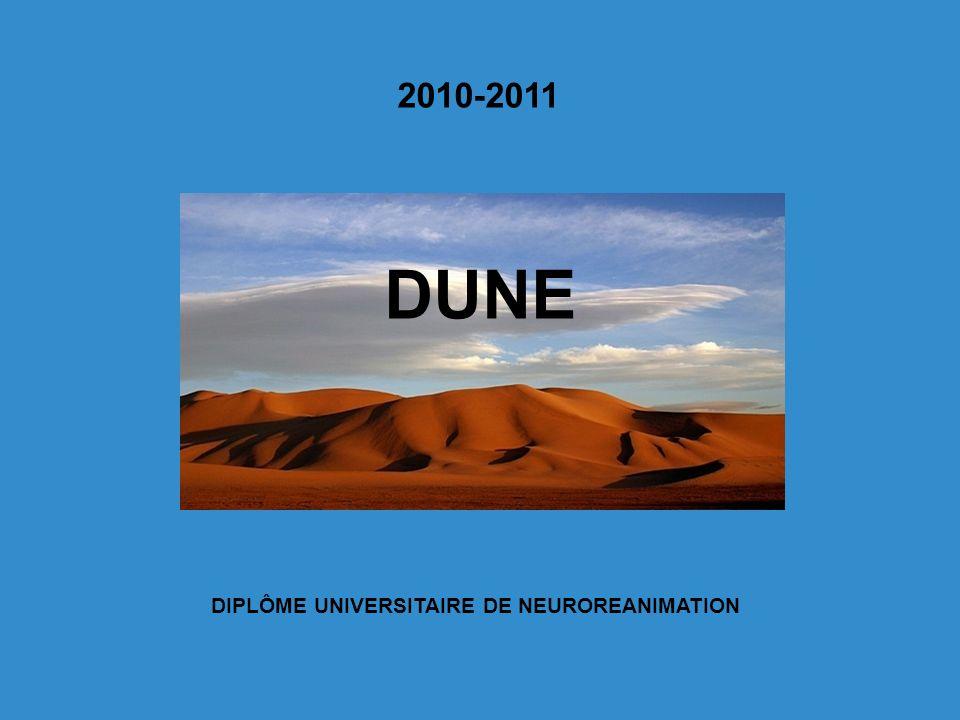 DIPLÔME UNIVERSITAIRE DE NEUROREANIMATION