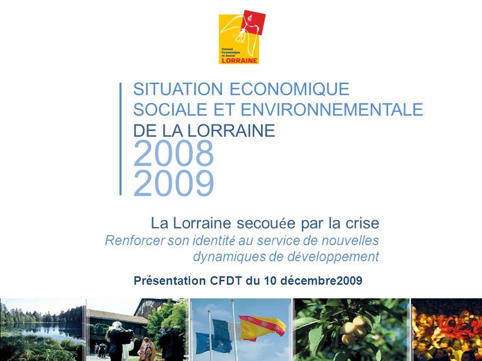 Présentation CFDT du 10 décembre2009