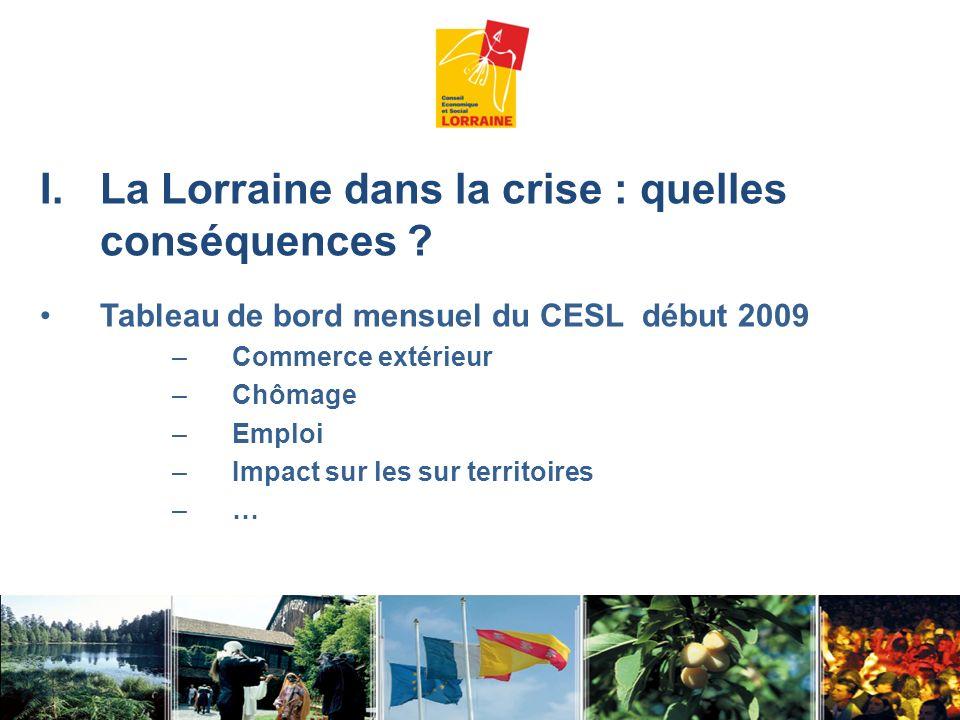 La Lorraine dans la crise : quelles conséquences