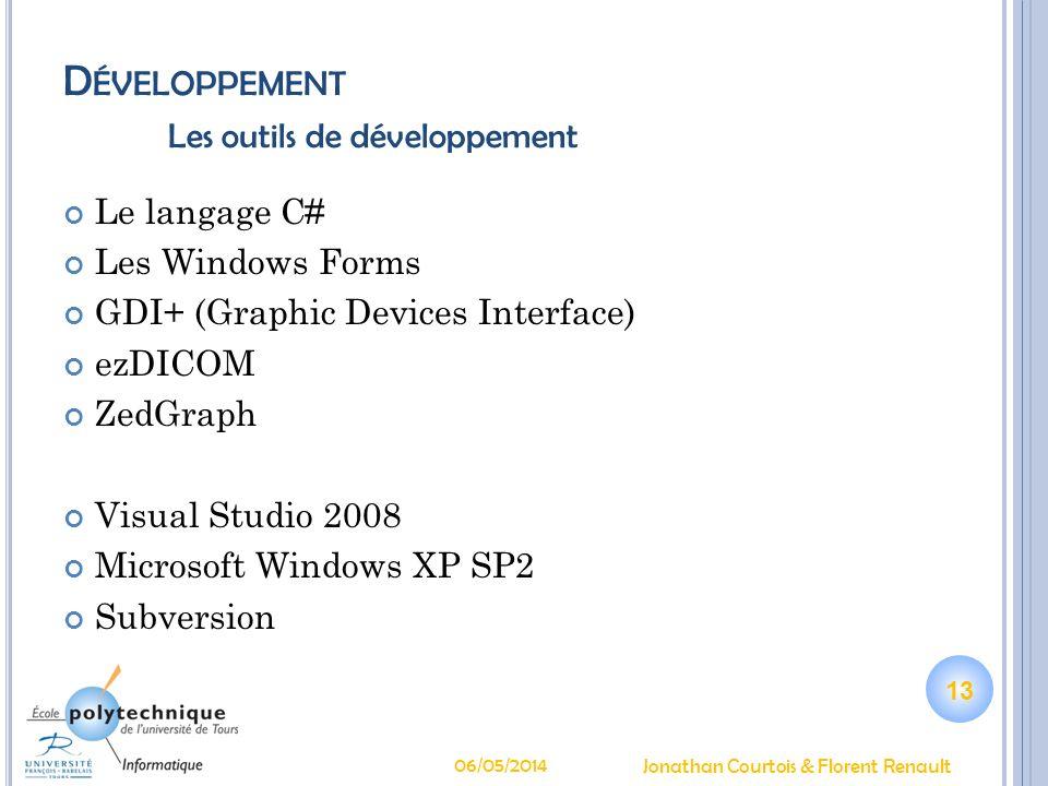 Développement Les outils de développement