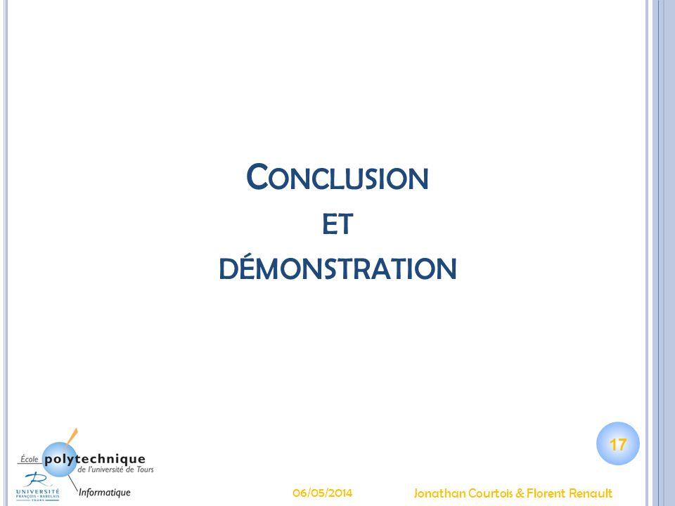 Conclusion et démonstration
