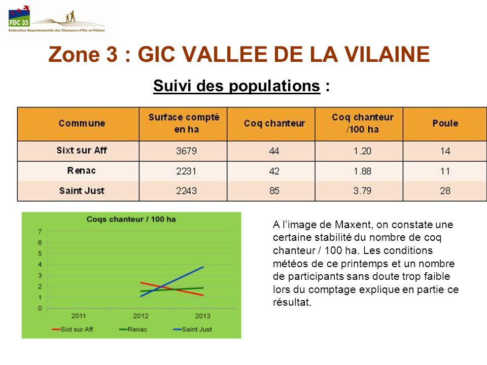 Zone 3 : GIC VALLEE DE LA VILAINE