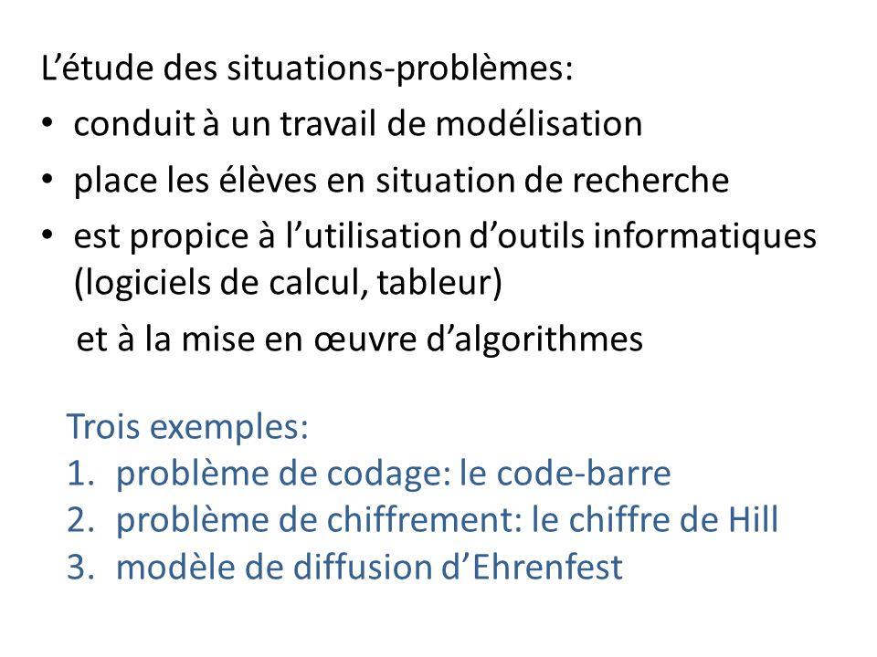 L'étude des situations-problèmes:
