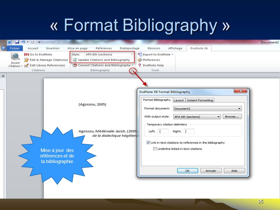 « Format Bibliography »