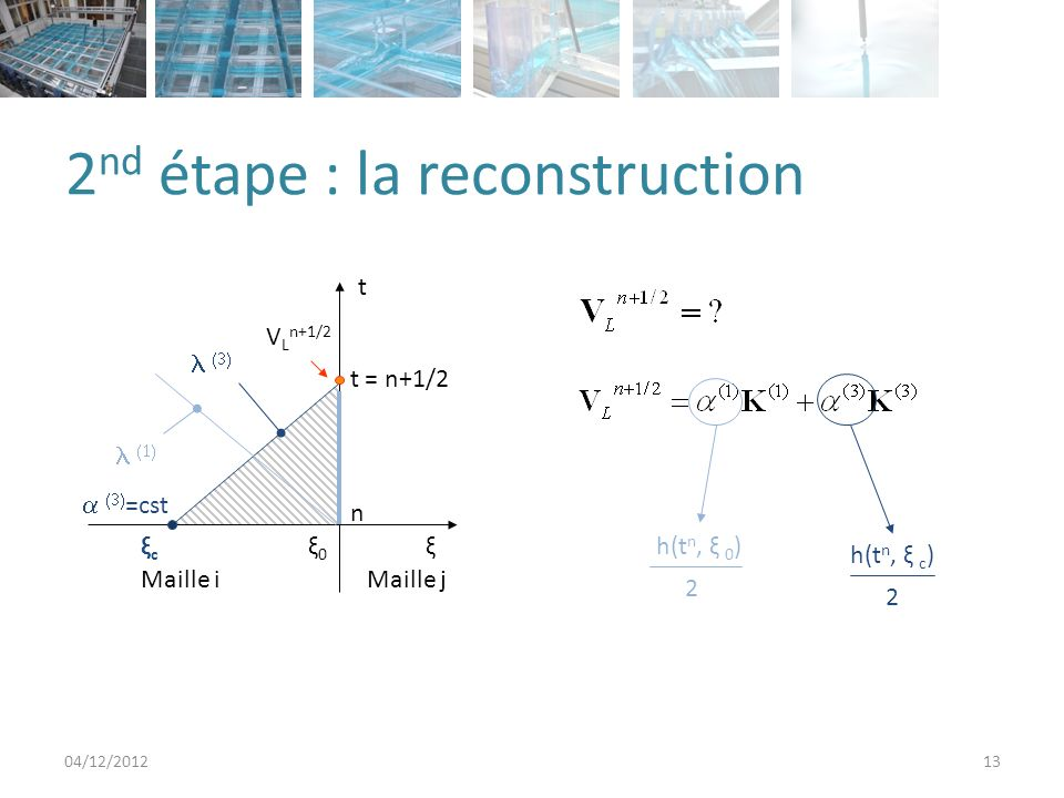 2nd étape : la reconstruction