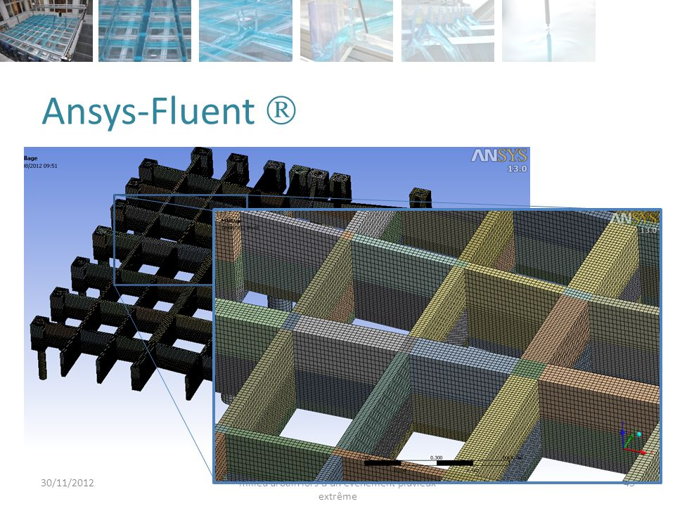 Ansys-Fluent  30/11/2012. Araud, Q.