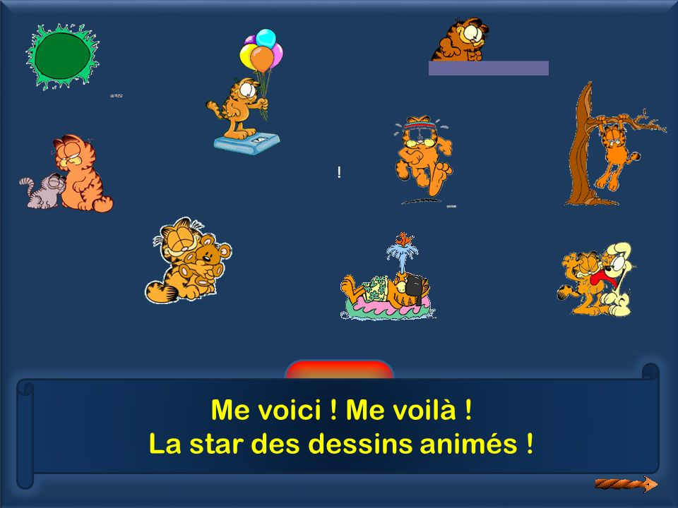 La star des dessins animés !