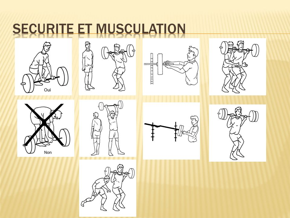 SECURITE et musculation