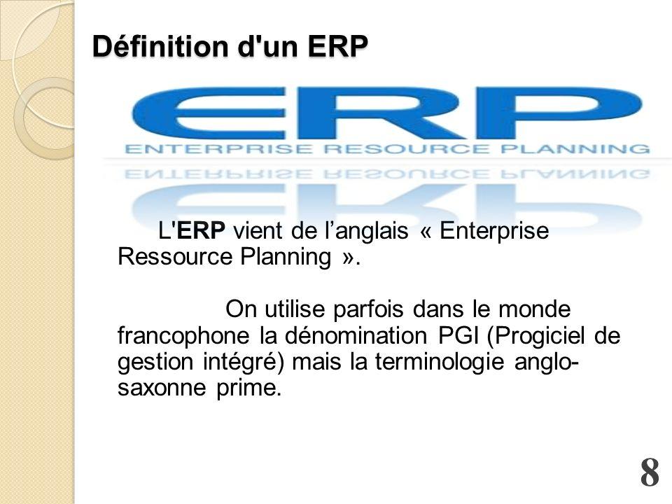 Définition d un ERP