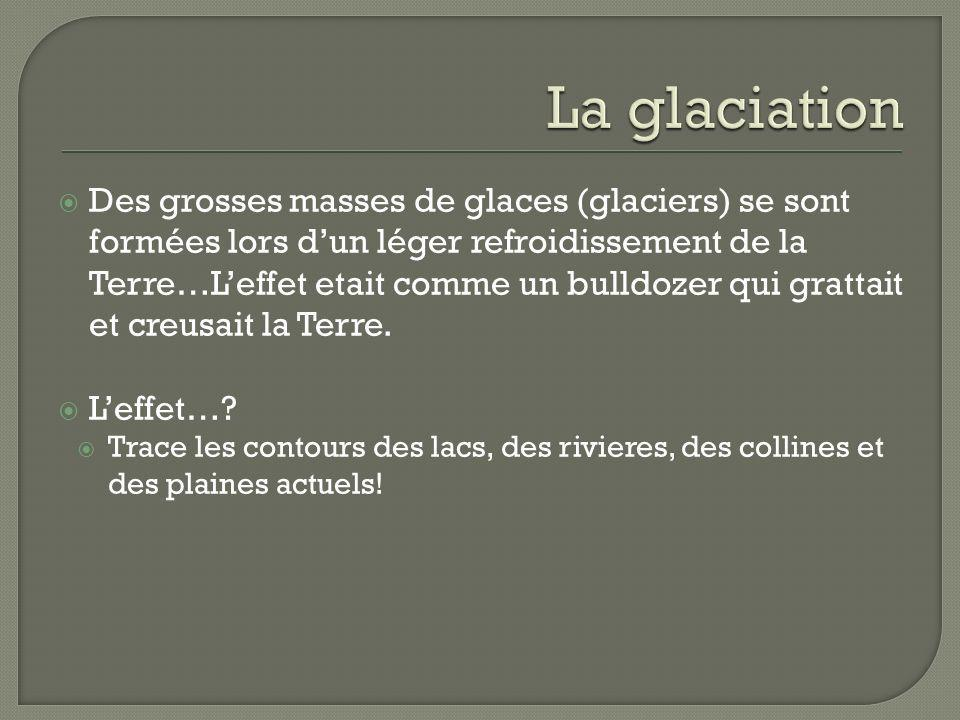 La glaciation