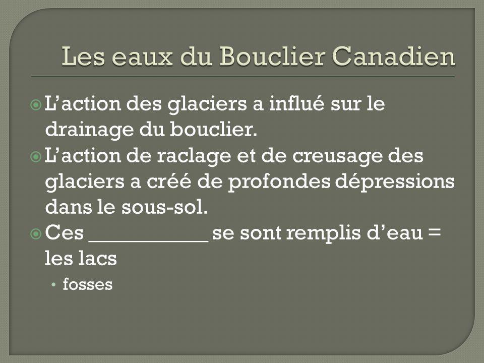 Les eaux du Bouclier Canadien