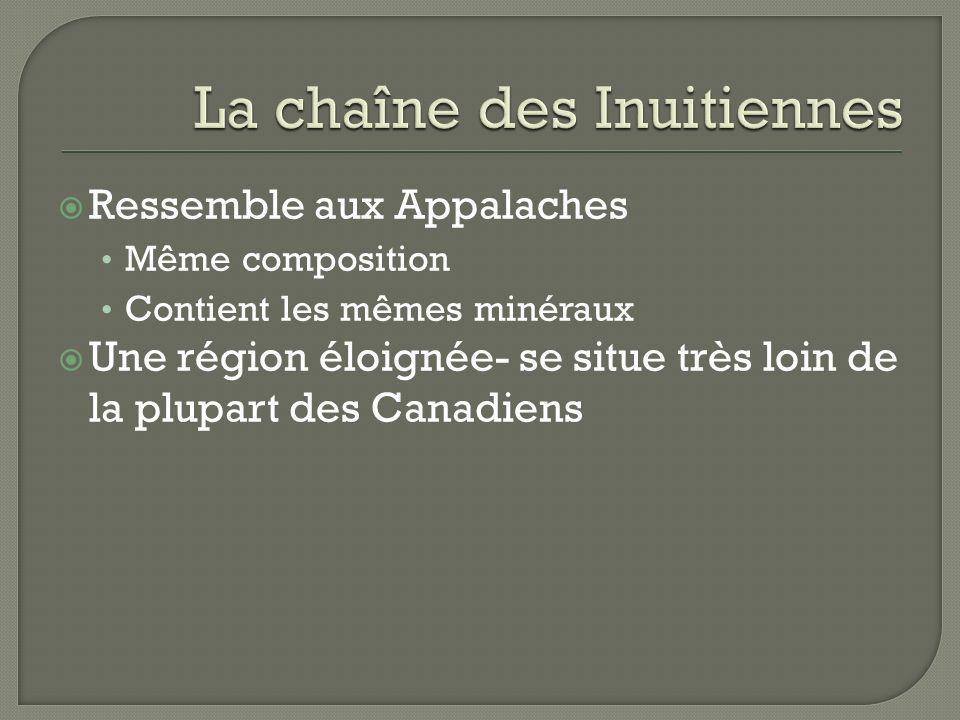 La chaîne des Inuitiennes