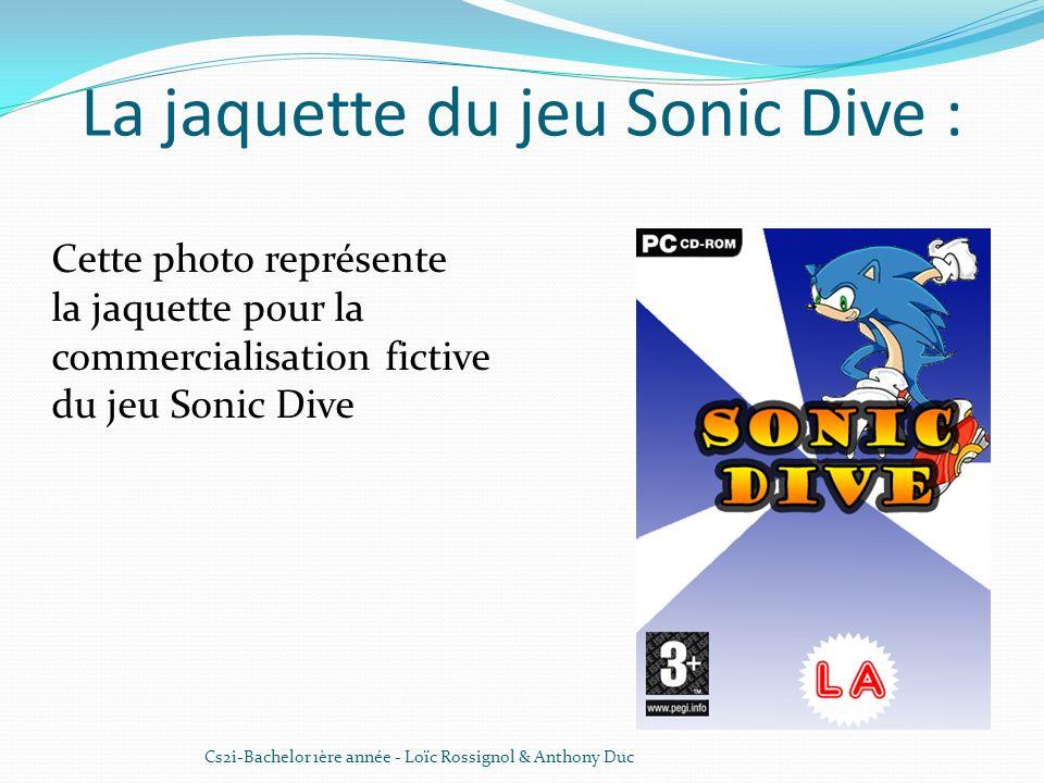 La jaquette du jeu Sonic Dive :