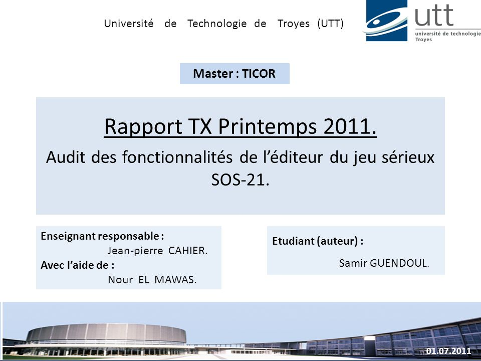 Université de Technologie de Troyes (UTT)