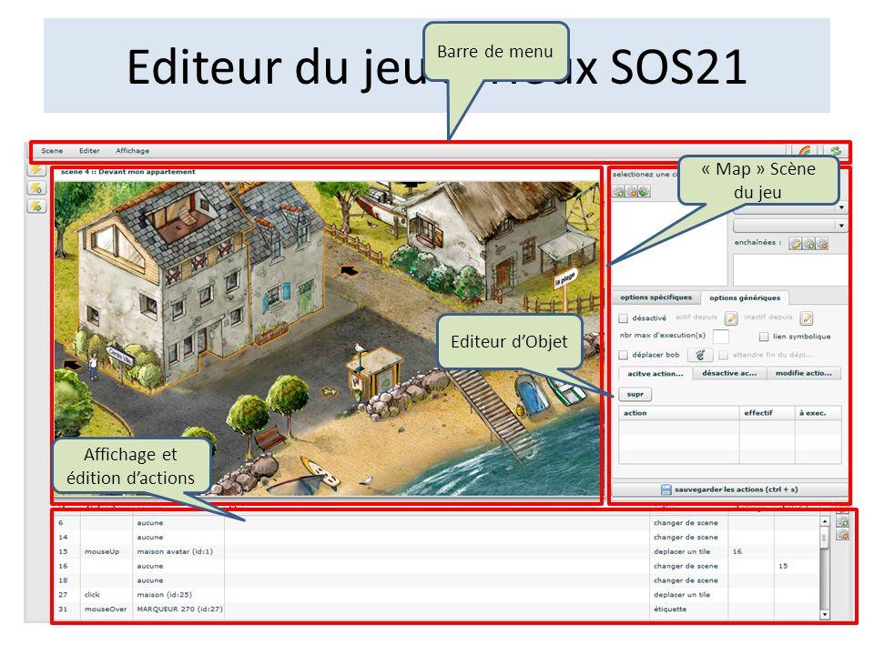 Editeur du jeu sérieux SOS21