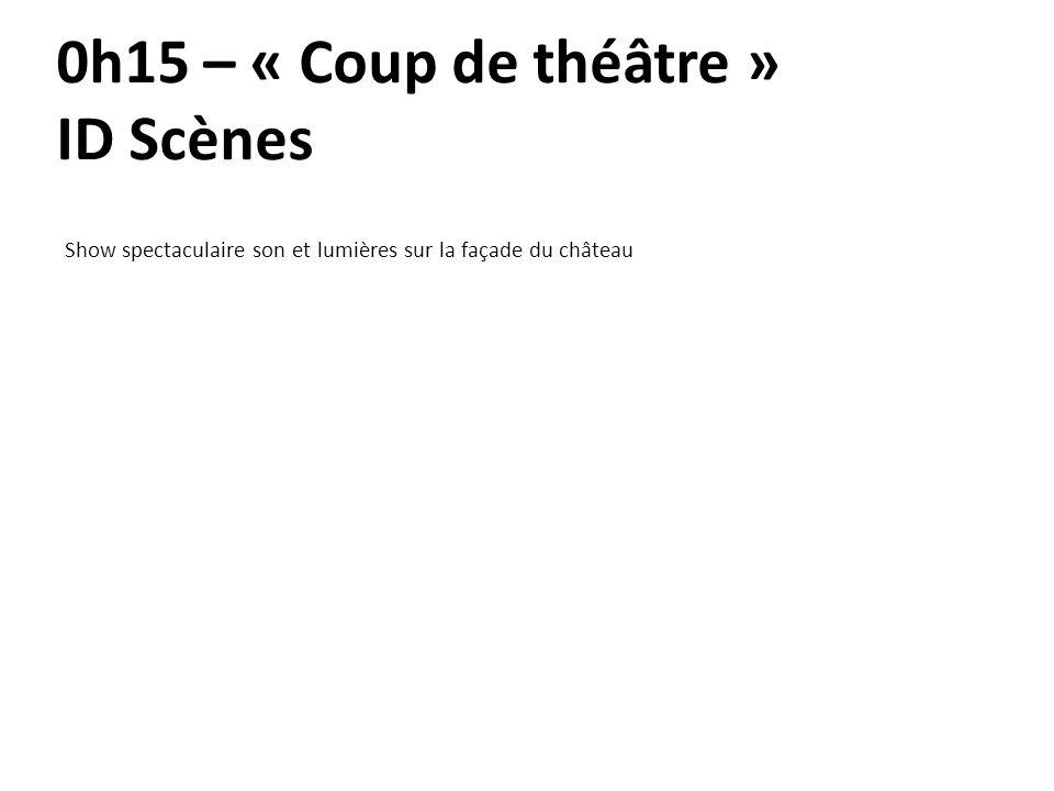 0h15 – « Coup de théâtre » ID Scènes