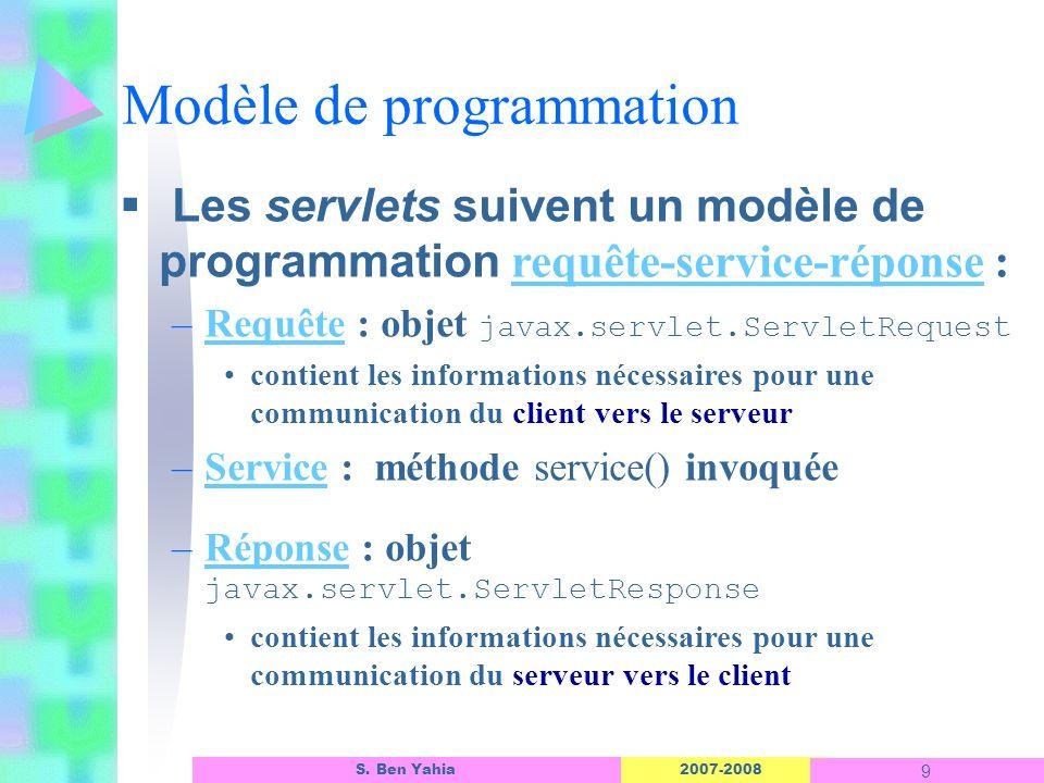 Modèle de programmation