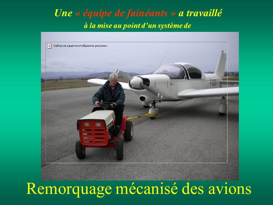 Remorquage mécanisé des avions