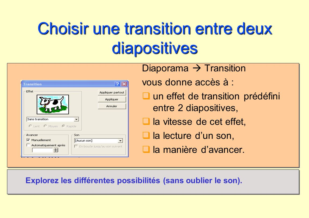 Introduction powerpoint ppt t l charger for Transition entre 2 carrelages