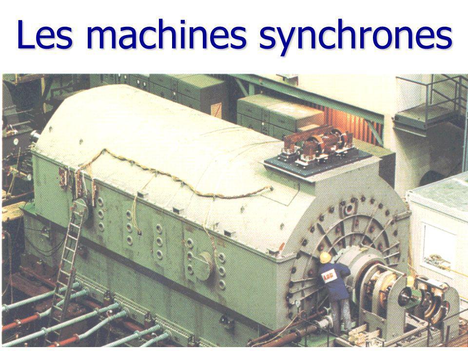 Les machines synchrones