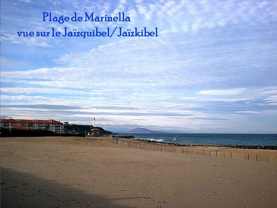 vue sur le Jaïzquibel/Jaïzkibel