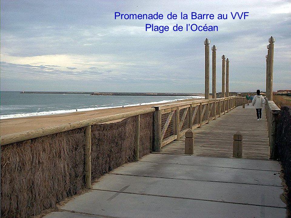 Promenade de la Barre au VVF