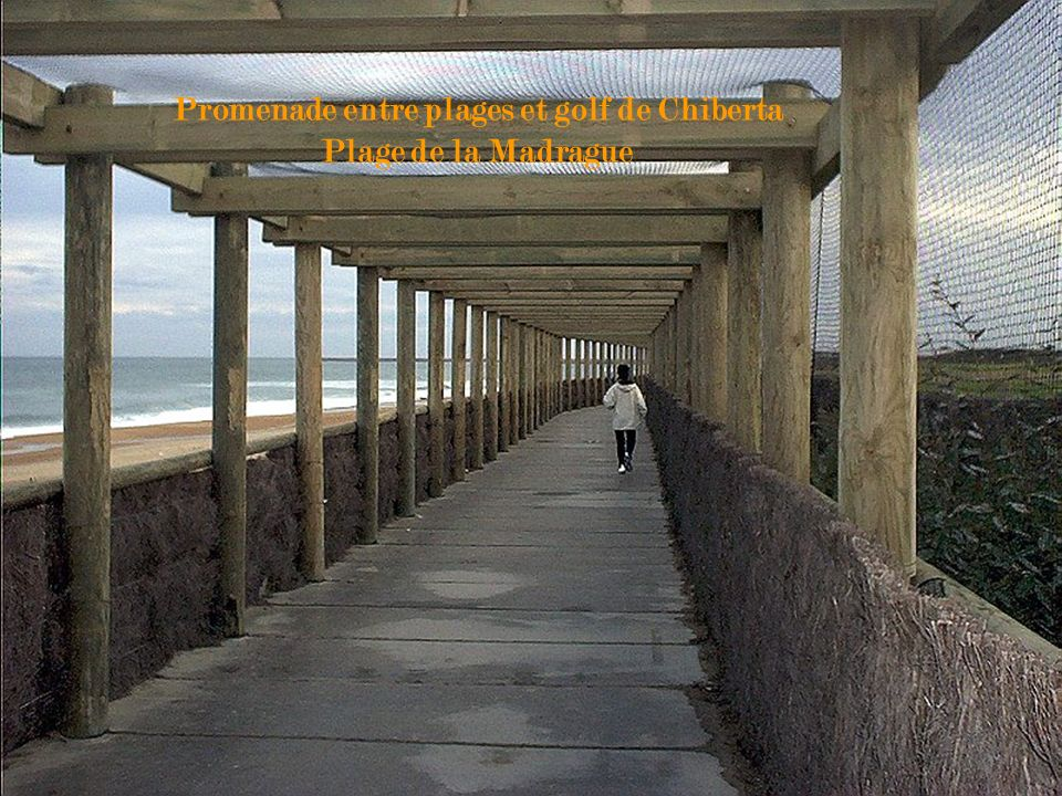 Promenade entre plages et golf de Chiberta